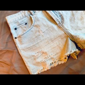 Pants - BP Nordstrom distressed denim shorts! Summer Ready